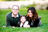 Liz + Jose + Jiselle | Family Pictures 2016